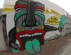 Mister Escobar, arte urbano, mural conciencia para los arboles y bosques de mi ciudad. Carlos Escobar artista
