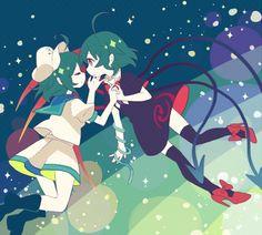 Murasa and Nue