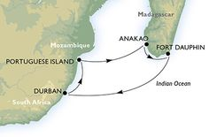Cruise - south africa - South Africa,Mozambique,Madagascar
