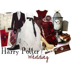 Harry Potter Wedding - Polyvore   @Rachel Hastings