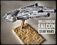 Millennium Falcon Star Wars painted build