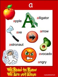 Phonics Poster - Letter 'a'- Printable FREEBIE!