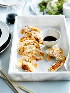 Whether you want to indulge guests with an amazing appetizer or try something different for dinner, these juicy and flavoursome five-star pork dumplings will well and truly hit the spot! pork and mushroom pot stickers ⅓ cup (80ml) vegetable oil 100g shiitake mushrooms, finely chopped 1 clove garlic, crushed 200g pork mince 1 green onion (scallion), finely chopped 1 x 1cm-piece (5g) fresh ginger, peeled and finely grated 2 teaspoons soy sauce 2 teaspoons oyster sauce 1 teaspoon sea salt…