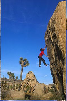 I'll be spending the last couple of days of my trip climbing in Joshua Tree, the place I miss being able to get to in only two hours!