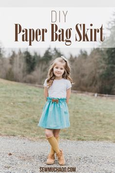 DIY Paper Bag Skirt {With Cricut Tools!}