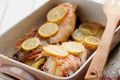 Receita de Peixe com limão à moda grega em receitas de peixes, veja essa e outras receitas aqui!