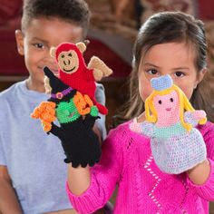 Red Heart Puppets for Play