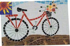 mosaico margaridas - Pesquisa Google