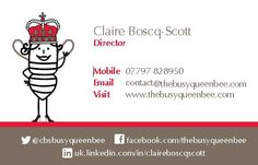 New Business Cards, February 2015 Back
