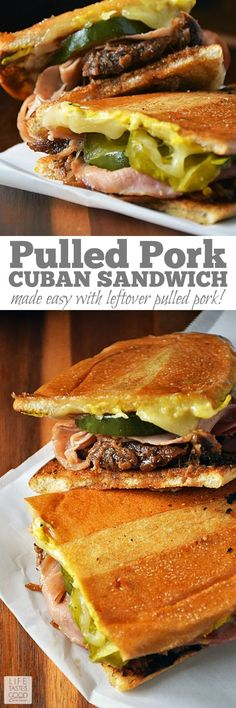 Hypoallergenic Pet Dog Food Items Diet Program No Need To Travel To South Florida To Enjoy A Cuban Sandwich. Make This Pulled Pork Cuban Sandwich By Life Tastes Good At Home Using Leftover Pulled Pork, Fresh Homemade Pickles, Your Favorite Ham And Cheese, Sandwiches, Kubanisches Sandwich, Soup And Sandwich, Tortas Sandwich, Cuban Pork Sandwich, Sandwich Cubano, Pulled Pork Quesadilla, Pulled Pork Sliders, Gastronomia