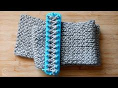 How to Loom Knit a Scarf | Easy Pattern for Beginners | The Sweetest Journey - YouTube