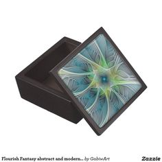 Flourish Fantasy abstract and modern Fractal Art Gift Box
