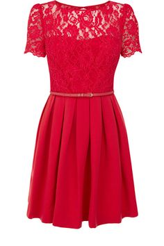 Cute skater dress - lovely outfit for dinner / drinks on valentines day??