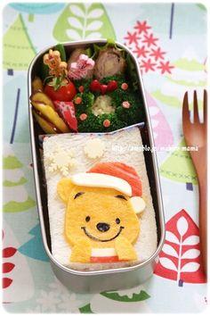 Pooh sandwich bento