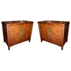 Pair of 60's Cabinets Attr. to Monteverdi-Young