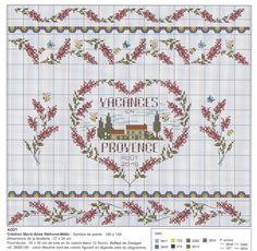 Small Cross Stitch, Cross Stitch Heart, Cross Stitch Borders, Cross Stitch Patterns, Provence, Dmc, Stitch 2, Le Point, Creations