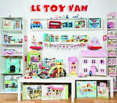 Dollhouses and toys by Le Toy Van