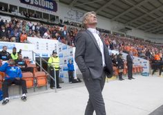 Jose Riga thanked Blackpool's supporters after a reception to remember at Bloomfield Road on Saturday.