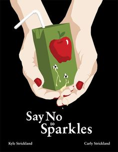 Say No to Sparkles is a fully illustrated anthology of quirky, spooky, comedic, and outrageous vampire stories– one of the world's oldest myths told with a fresh voice. It features vampires that are blood-sucking killers, mothers, CEOs, and are killed by sunlight. This book is completely devoid of perfect smiles, haunted looks, shirtless werewolves, and sparkles.