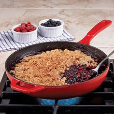 Lodge Enamel 11-inch Skillet. NOTE about  Lodge:  The cast iron cookware made in USA. However, Lodge enamel cookware is made in China.