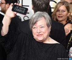 Kathy Bates #JeSuisCharlie