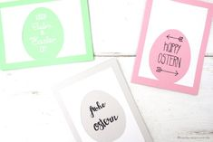 DIY Osterkarte mit Ei Silhouette // DIY Easter Cards with Egg Silhouette