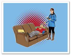 Cannonwalls uStrip Peel and Stick Big Bang Theory Star Trek Mash Up Sheldon Karma Designer Removable Wall Decal Sticker Poster Removable Wall Decals, Wall Decal Sticker, Big Bang Theory Shirts, Star Trek, Karma, Stickers, Amazon, Stars, Design