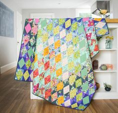 FreeSpirit Slow and Steady by Tula Pink Fabric & Radiance Pattern Quilt Kit…
