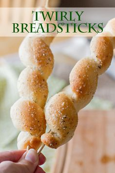 Step-by-step tutorial for making Twirly Breadsticks. Make these fun breadsticks today!