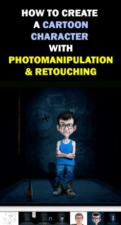 One of our 36 professional Photoshop tutorials will teach you how to create a cartoon character with Photoshop manipulation & retouching.