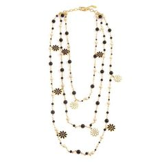 Amrita Singh Madeline Necklace Jet Black