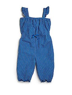 Burberry Infant's Polka Dot Romper