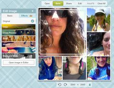 How to embrace Pic Monkey's newest and updated collage feature.  Could be used to make my own instructional images.