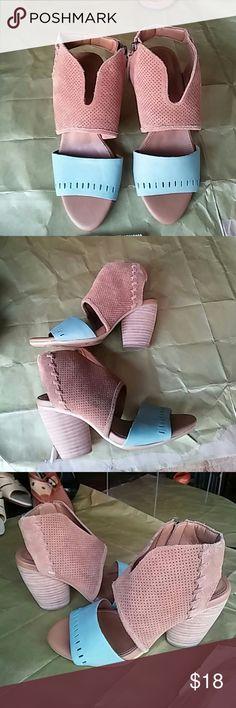 The cutest spring shoe Beautiful leather comfortable stylish EMU Australia Shoes Heels