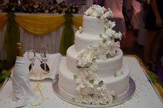 Our Wedding Cake Yellow Wedding, Our Wedding, Wedding Cakes, Desserts, Wedding Gown Cakes, Tailgate Desserts, Deserts, Cake Wedding, Postres