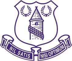 Everton Football Club | Country: England, United Kingdom. País: Inglaterra, Reino Unido. | Founded/Fundado: 1878 | Badge/Escudo: 1991 - 2000.
