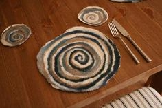 Felted Placemat