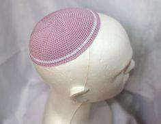 yarmulke kippah kipot pink by 4craft4 on Etsy, $10.00
