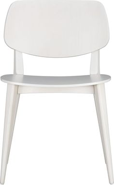 Scoop Side Chair in Dining Chairs | Crate and Barrel