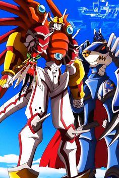 #Digimon Savers, ShinyGreymon, MirageGaogamon,Rosemon