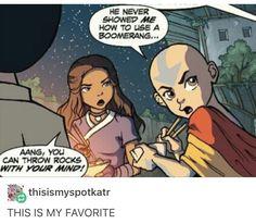 Relationship Goals | Kataang | Katara & Aang | Darkhorse Comics | The Last Airbender | Avatar