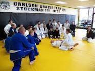 Learning a new Brazilian Jiu Jitsu technique.    Carlson Gracie Indianapolis Jiu Jitsu  916 E. Main St.  Suite 111  Greenwood, IN. 46143  317-979-4466  http://www.carlsongracieindy.com