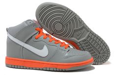 uk availability a8c16 b50f6 Man Nike Dunk SB High Grey-Orange 304292 005 Nike Dunks, Nike Shox,
