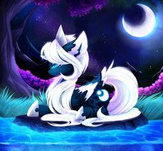 Wondering the Night MLP: Princess Luna