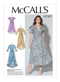 Lilacs & Lace: Early Fall Patterns from McCalls