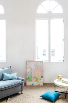 An Art Inspired Home | west elm + Tara Pearce
