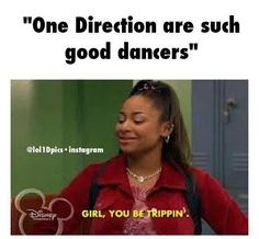 No, girl, THEY be trippin'. All over the stage. -I