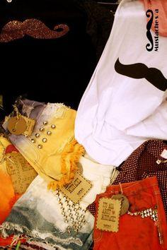 #Mustache #Hotpants #Studs #Shorts #ToWear #Moustache #MustacheSA