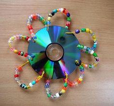 Kreative Ideen aus alten CD's #13