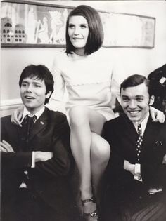 Cliff Richard, Karel Gott and a young lady Sir Cliff Richard, Karel Gott, Mark Knopfler, Rest In Peace, Hero, Celebrities, Lady, Shadows, Music
